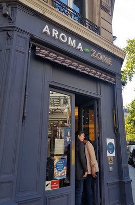 projet demain AZ aroma-zone boutique haussmann