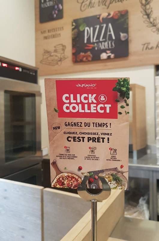 vapiano quatre temps click&collect tribulationsdunequinqua