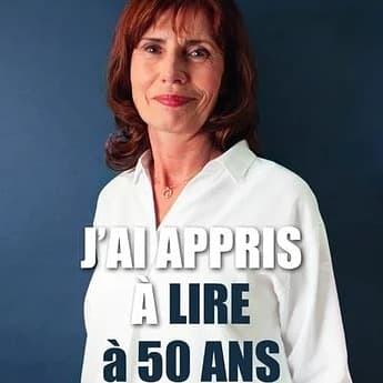 Aline Le Guluche j'ai appris à lire à 50 ans