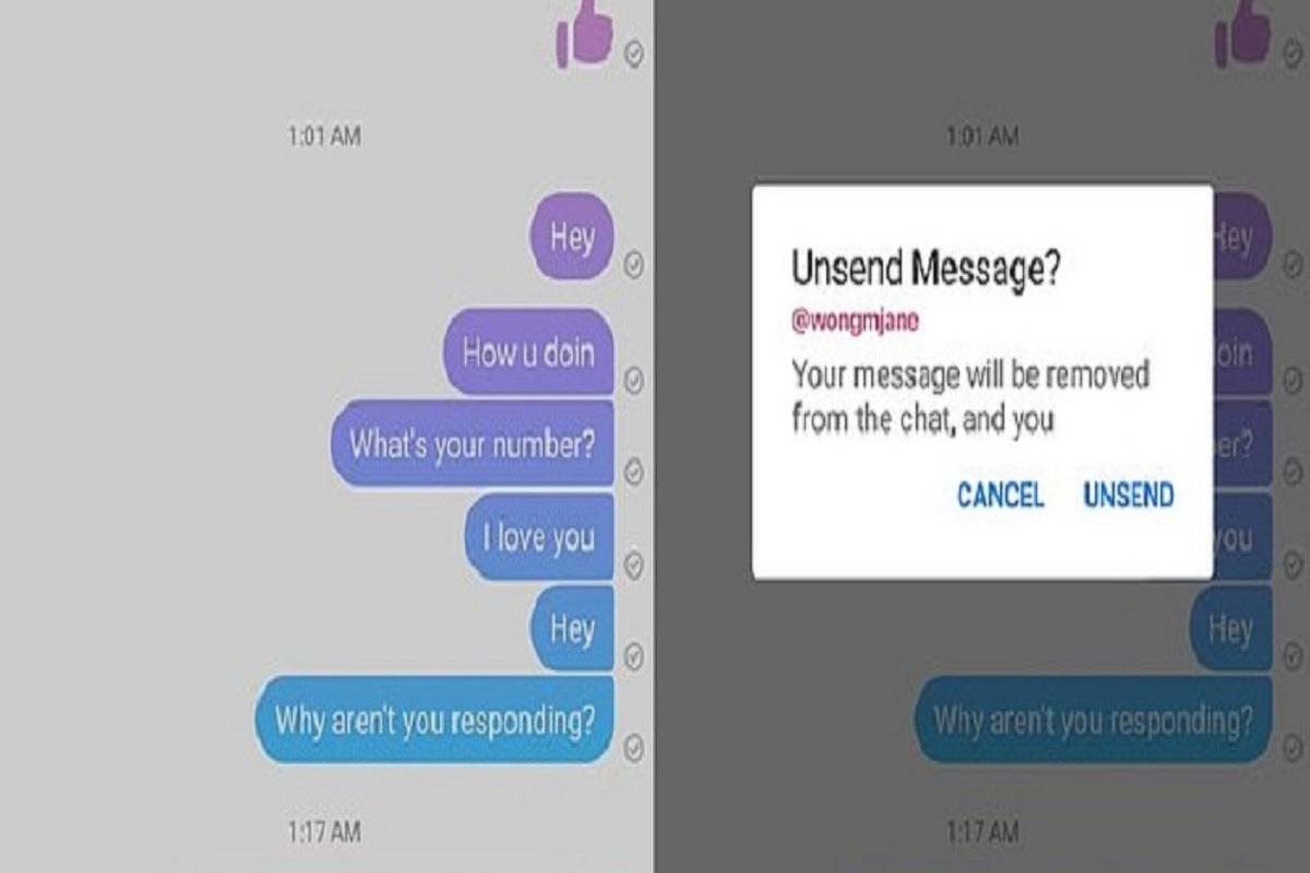 Фејсбук Месинџер конечно ќе ви дава можност да ја избришете испратената порака – ќе имате 10 минути за тоа