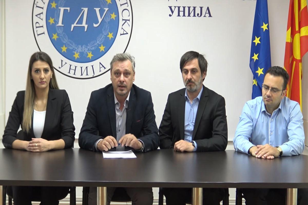 ГДУ: потребни се сериозни реформи во политичкиот систем