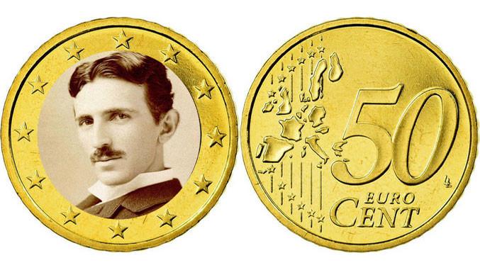 На хрватските евро монети ќе го има и Тесла