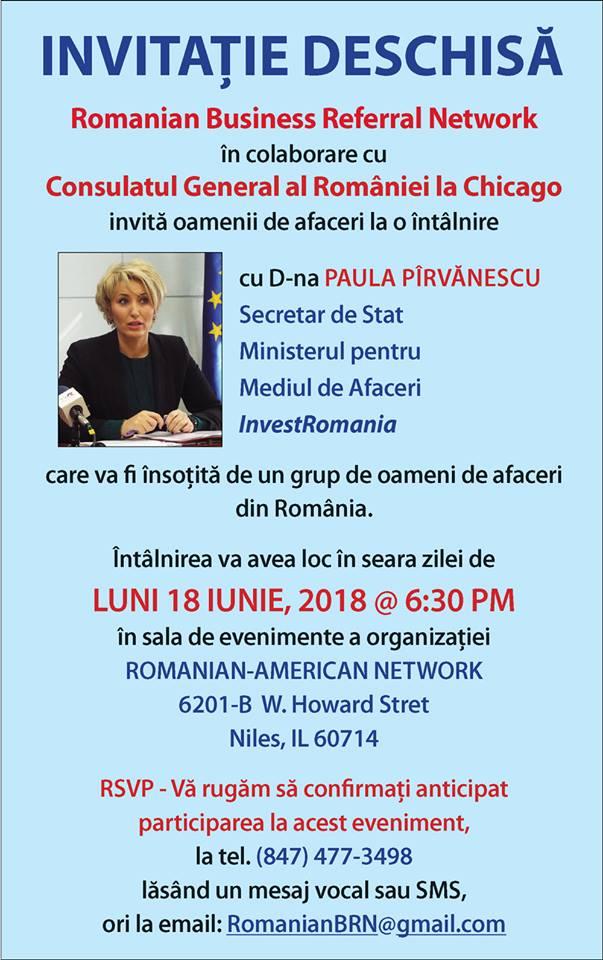 Invitație Romanian Business Referral Network