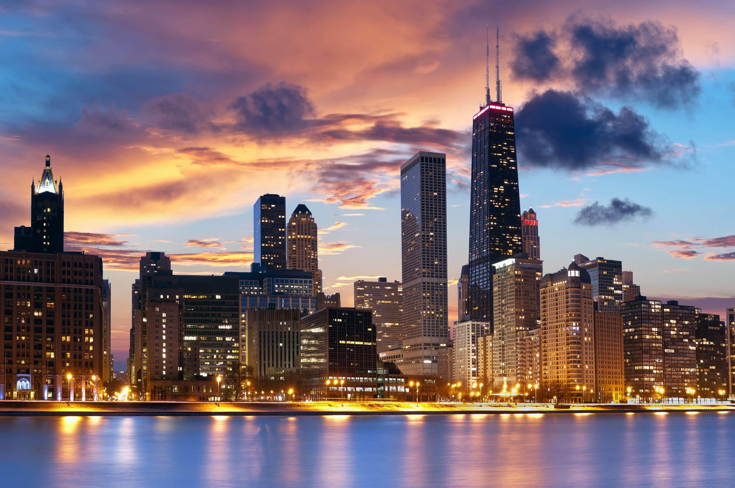 Lista celor 27 Biserici Creștine Românești din zona Chicago, Illinois
