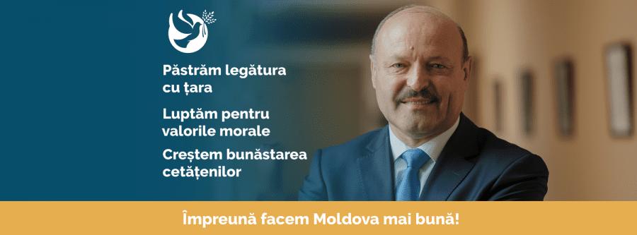 Peter Costea: Susțin candidatura independentă a dlui Valeriu Ghilețchi în Republica Moldova