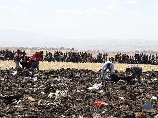 Pasageri de peste 30 de naţionalităţi la bordul avionului etiopian Boeing 737 prăbuşit