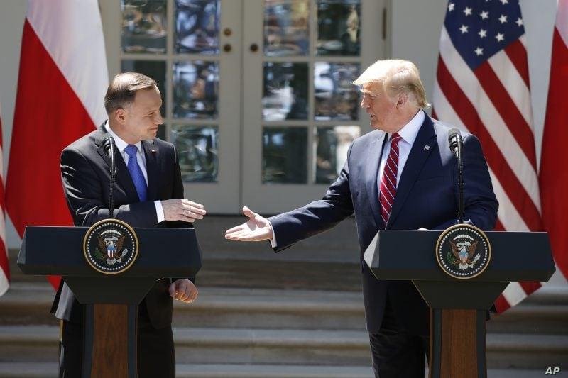 SUA vor desfăşura 1.000 de soldaţi în Polonia, anunţ salutat de NATO