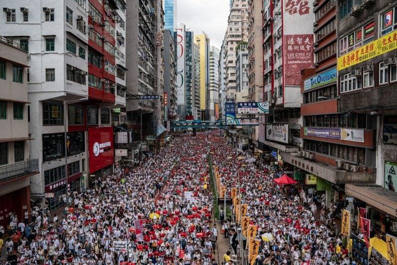 Influența Creștinismului în protestele pașnice din Hong Kong – un etalon pentru întreaga lume