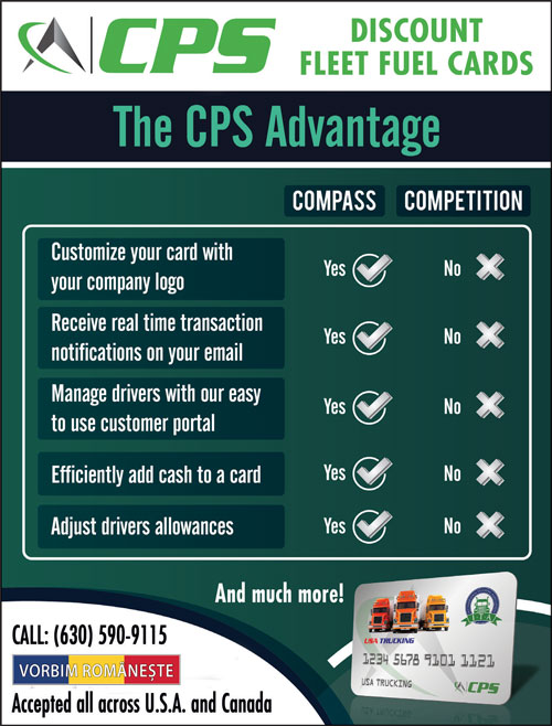 Compass: CPS Advantage Discount Fleet Fuel Cards