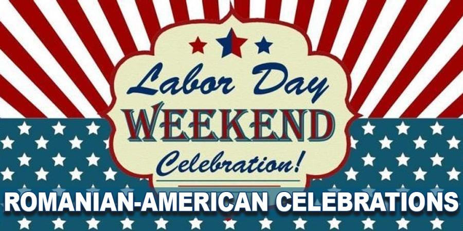 Trei mari evenimente ale organizațiilor asociative creștine românești din SUA în Labor Day weekend!