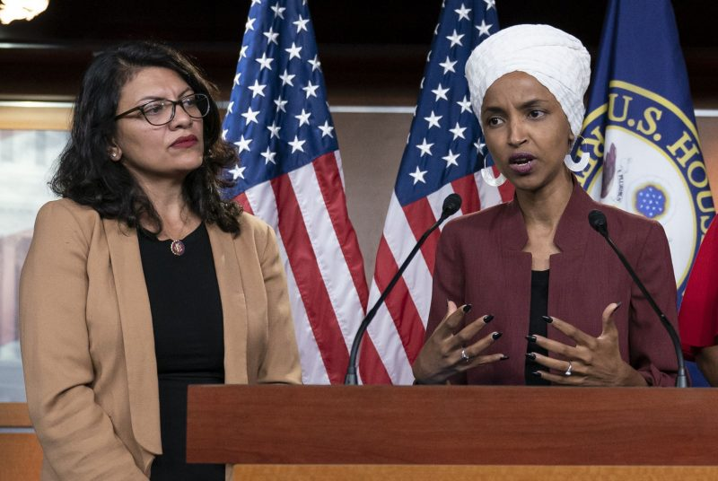 Israelul are tot dreptul să interzică accesul în țară lui Rashida Tlaib și Ilhan Omar