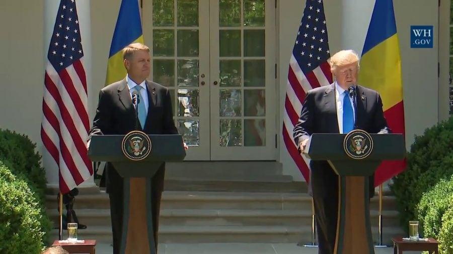 Donald Trump îl primeşte pe Klaus Iohannis la Casa Albă, pe 20 august