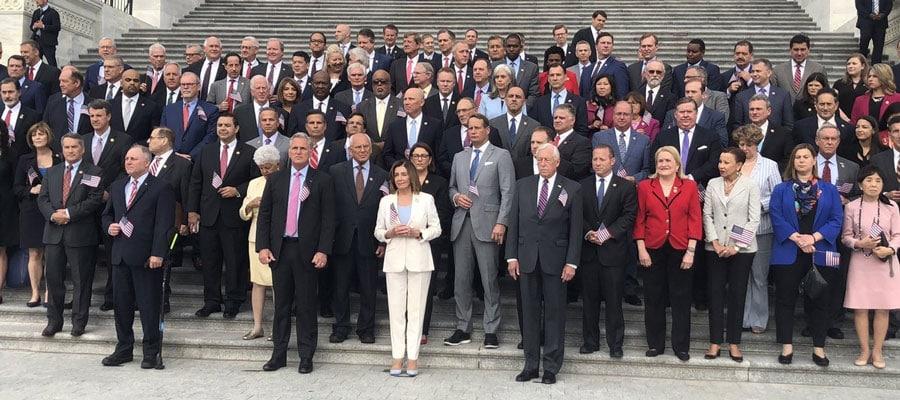 Numai  26% din congresmenii democrați au participat la Momentul de Tăcere în memoria 9/11