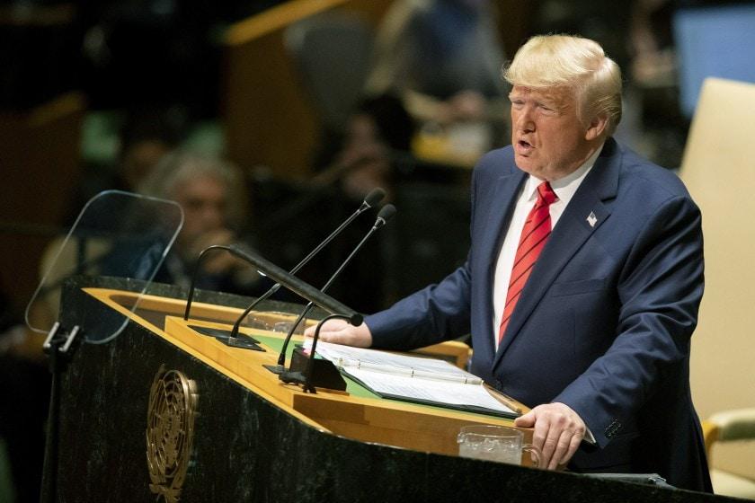 Trump la ONU: Viitorul nu aparţine globaliştilor, ci patrioţilor
