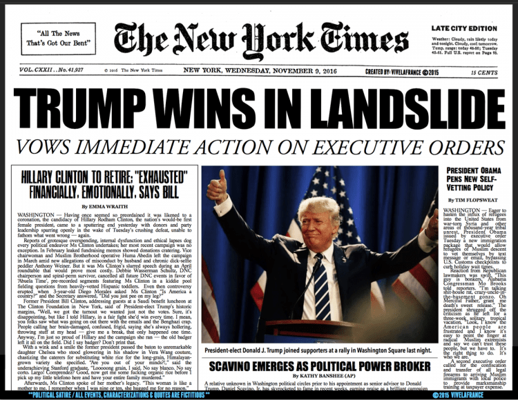 Donald Trump produce insomnii jurnaliștilor de la New York Times