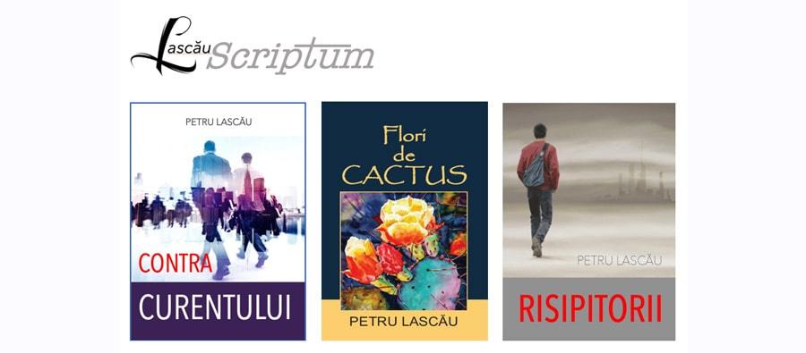 Editura Lascău Scriptum: Trei cărți