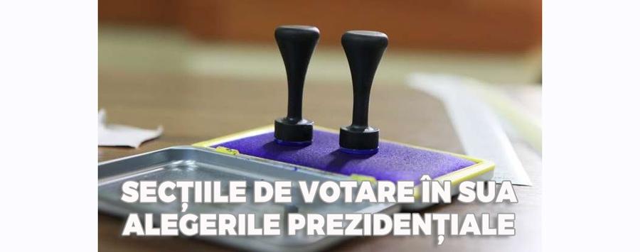 LISTA SECȚIILOR DE VOTARE DIN S.U.A. – Alegeri Prezidențiale 2019
