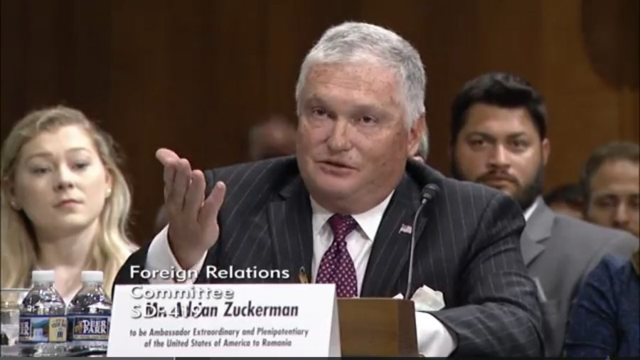 Breaking: Adrian Zuckerman a fost confirmat ca ambasador al SUA în România