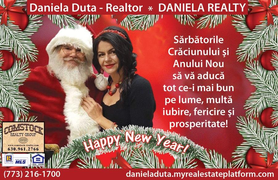 Daniela Realty vă urează tuturor: Sărbători Fericite! – VIDEO
