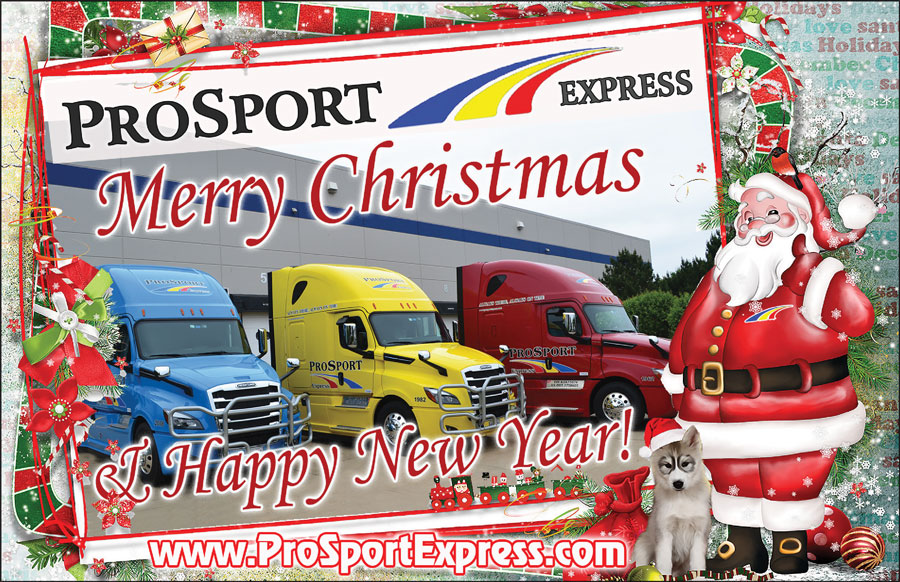 ProSport Express: Merry Christmas & Happy New Year!