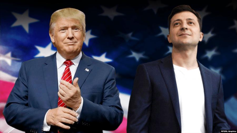 Preşedintele Ucrainei neagă orice fel de schimb de favoruri cu Donald Trump