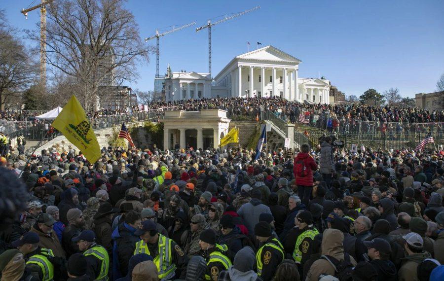 Protestele pașnice din Virginia pentru Amendamentul 2 dovedesc că mass-media urăște posesorii de arme