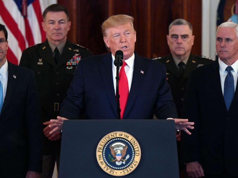 Trump: Nici un american nu a fost rănit de atacurile cu rachete balistice ale Iranului