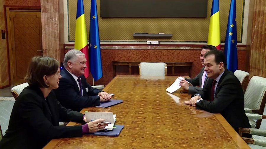 Ambasadorul SUA salută învestirea Guvernului Orban
