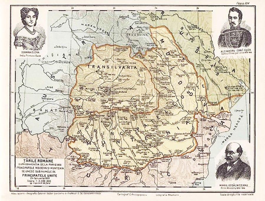 160 de ani de la unirea Moldovei cu Țara Românească – 24 ianuarie 1859