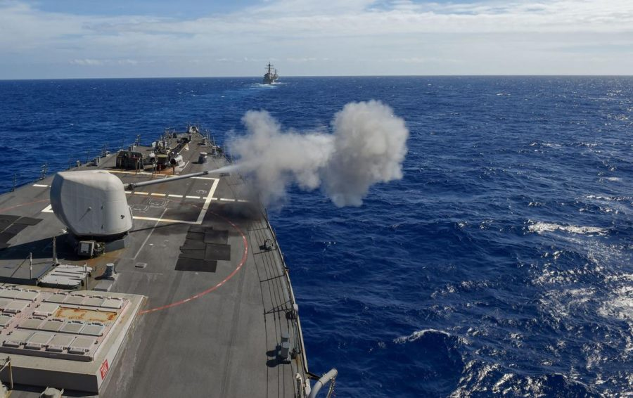 Donald Trump ordonă distrugerea vaselor militare iraniene dacă acestea hărţuiesc navele americane