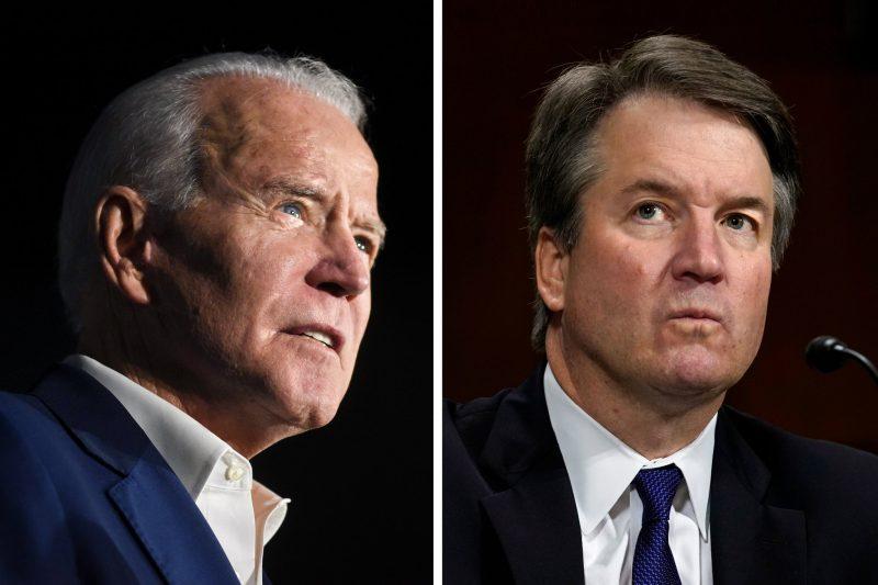 95 de vedete care l-au declarat vinovat de viol pe Kavanaugh ignoră acuzațiile împotriva lui Biden