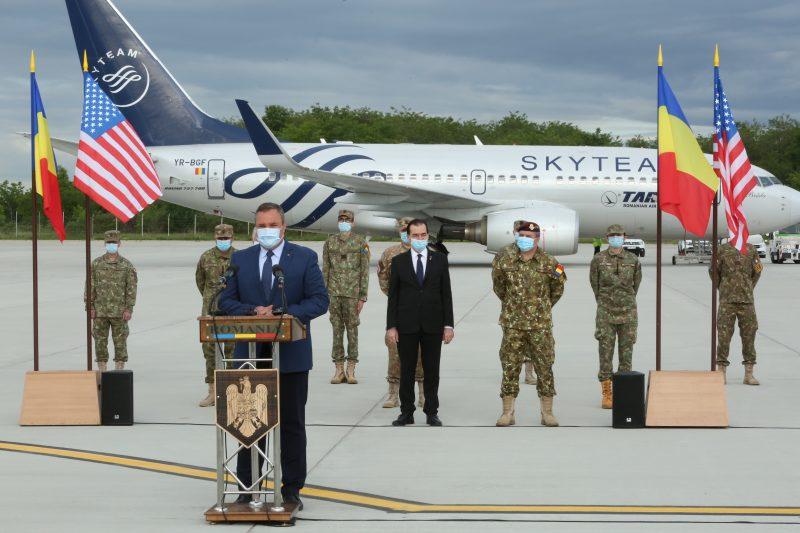 Misiune în SUA executată de personal din Armata României, în contextul pandemiei COVID-19