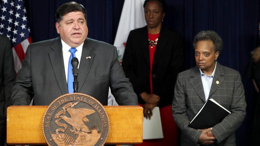 Cine i-a dat Guv. Pritzker autoritatea să închidă statul Illinois?