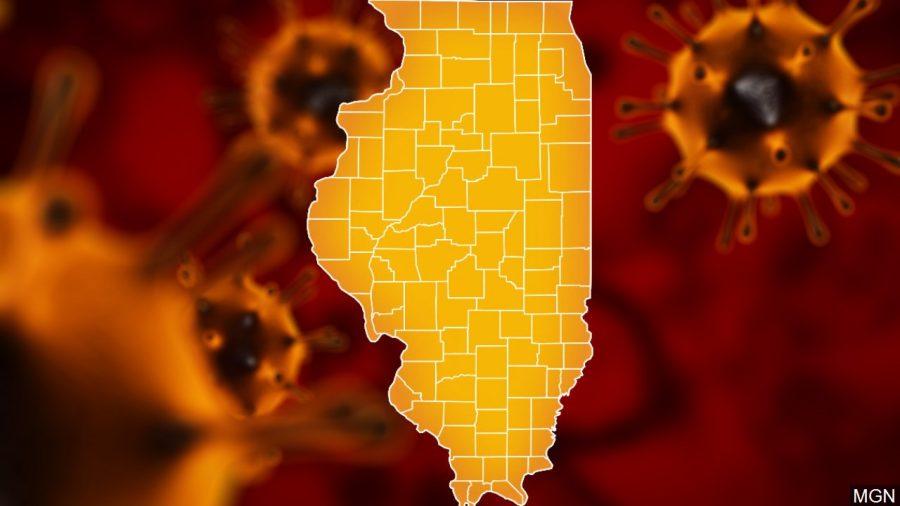 Illinois raportează cel mai mic număr de noi cazuri COVID-19 din ultimele două luni
