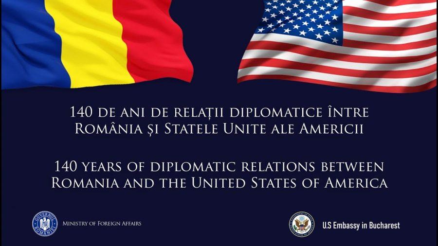 """140 de ani de relații diplomatice cu SUA. """"Legăturile dintre noi sunt acum mai strânse ca niciodată"""""""