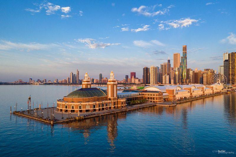 Chicago: Navy Pier riscă să se închidă, operatorul înregistrează pierderi de 20 de milioane de dolari