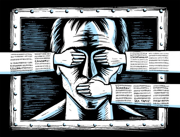 Listele negre și cenzura sunt atributele societăților represive. Nu le acceptați în America!