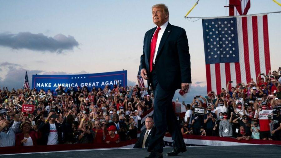 Donald Trump revine în forţă la mitingurilor electorale