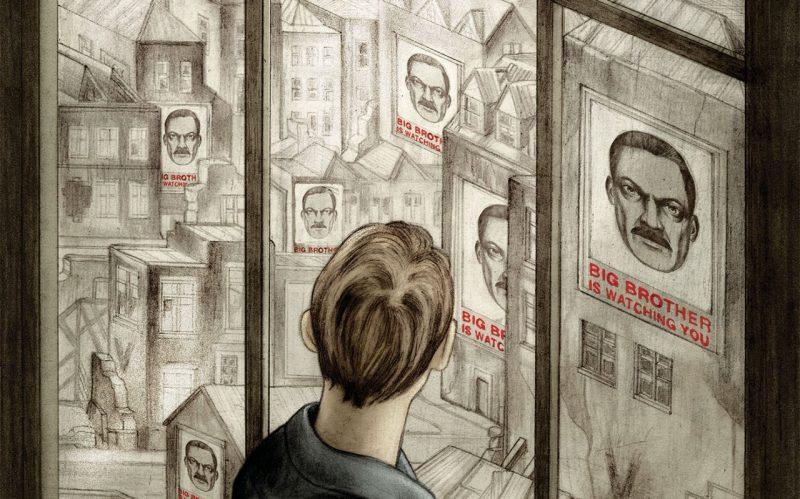 Membrii Stângii iau romanul lui Orwell, 1984, drept model pentru progres