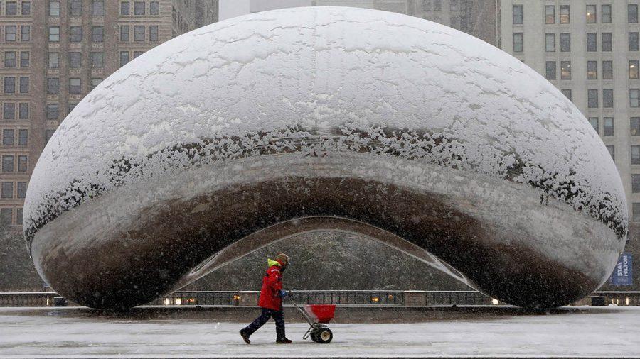 Prima furtună majoră de zăpadă lovește zona Chicago