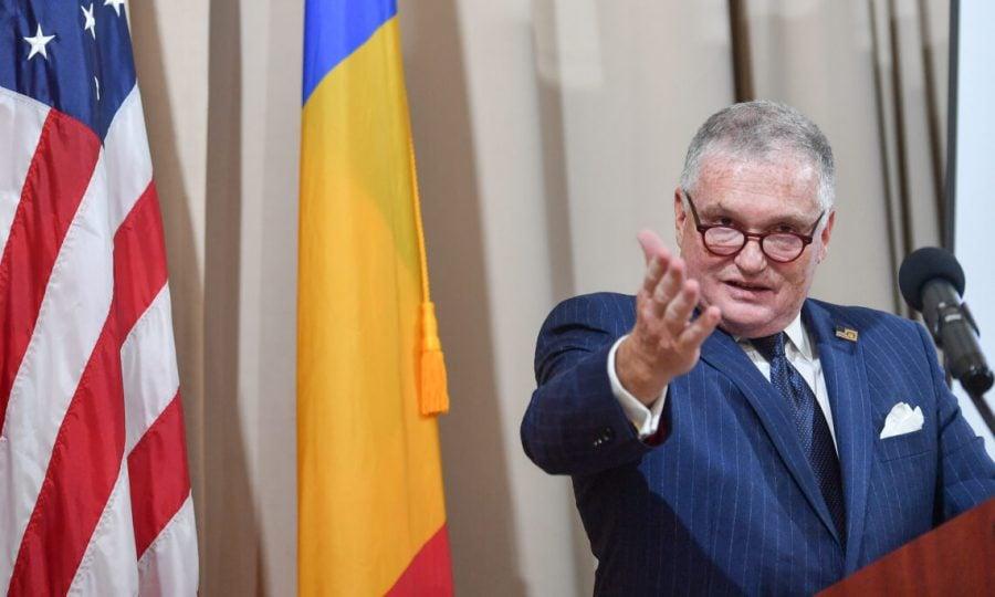 """Ambasadorul SUA Adrian Zuckerman, la final de mandat: """"Iubesc țara în care m-am născut și am fost binecuvântat să mă pot întoarce să ajut România"""""""