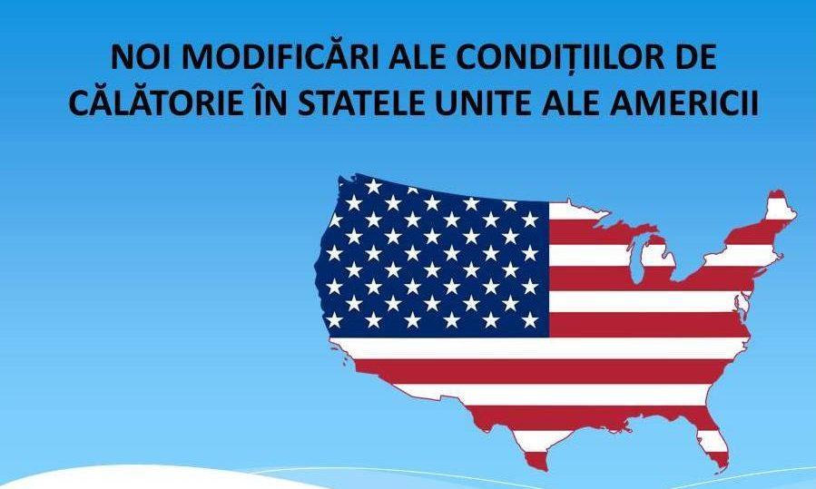 COVID-19: Noi modificări ale condițiilor de intrare pe teritoriul Statelor Unite ale Americii
