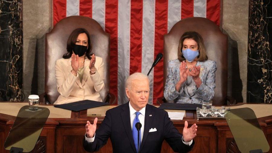 Biden face afirmații controversate în primul său discurs în fața Congresului