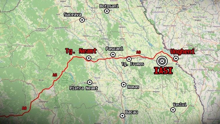 """Autostrada """"Unirii"""" A8 – A fost semnat contractul pentru proiectarea tronsonului Tg. Neamț – Iași – Ungheni"""