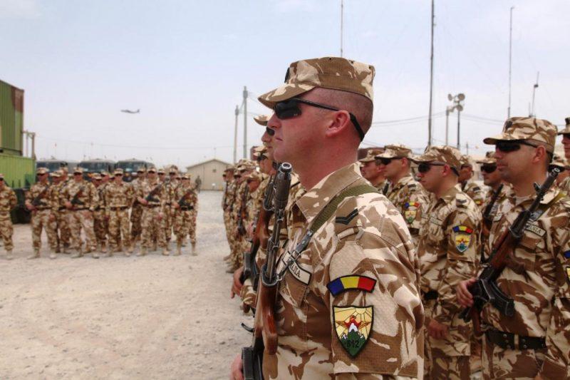 România își va retrage militarii din Afganistan începând din luna mai
