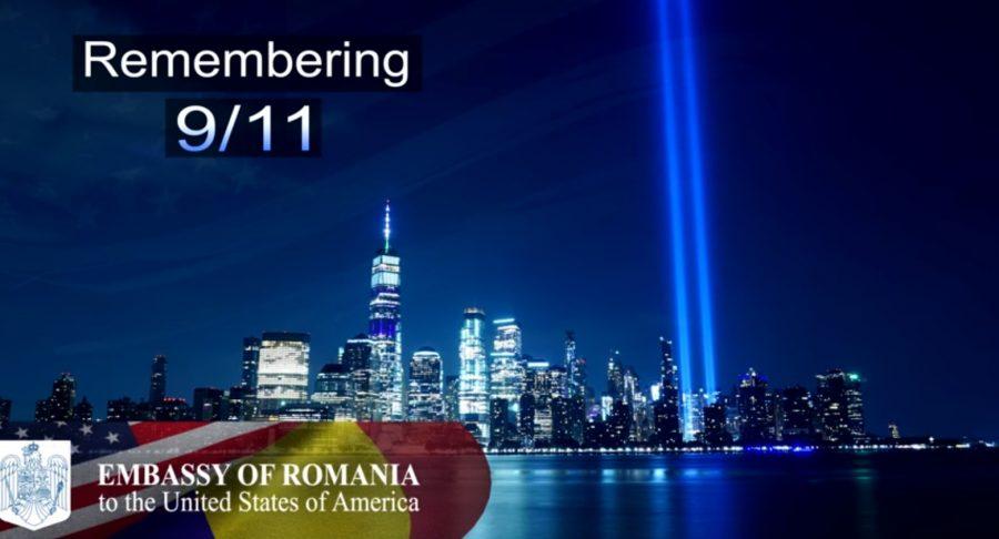 Omagiu adus de diplomații Ambasadei României la Washington victimelor atentatelor de la 11 septembrie, la 20 de ani de la atacurile teroriste