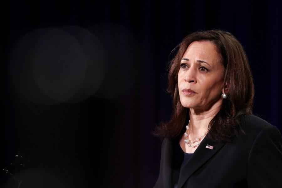 Kamala Harris, Vicepreședintele absent prin definiție