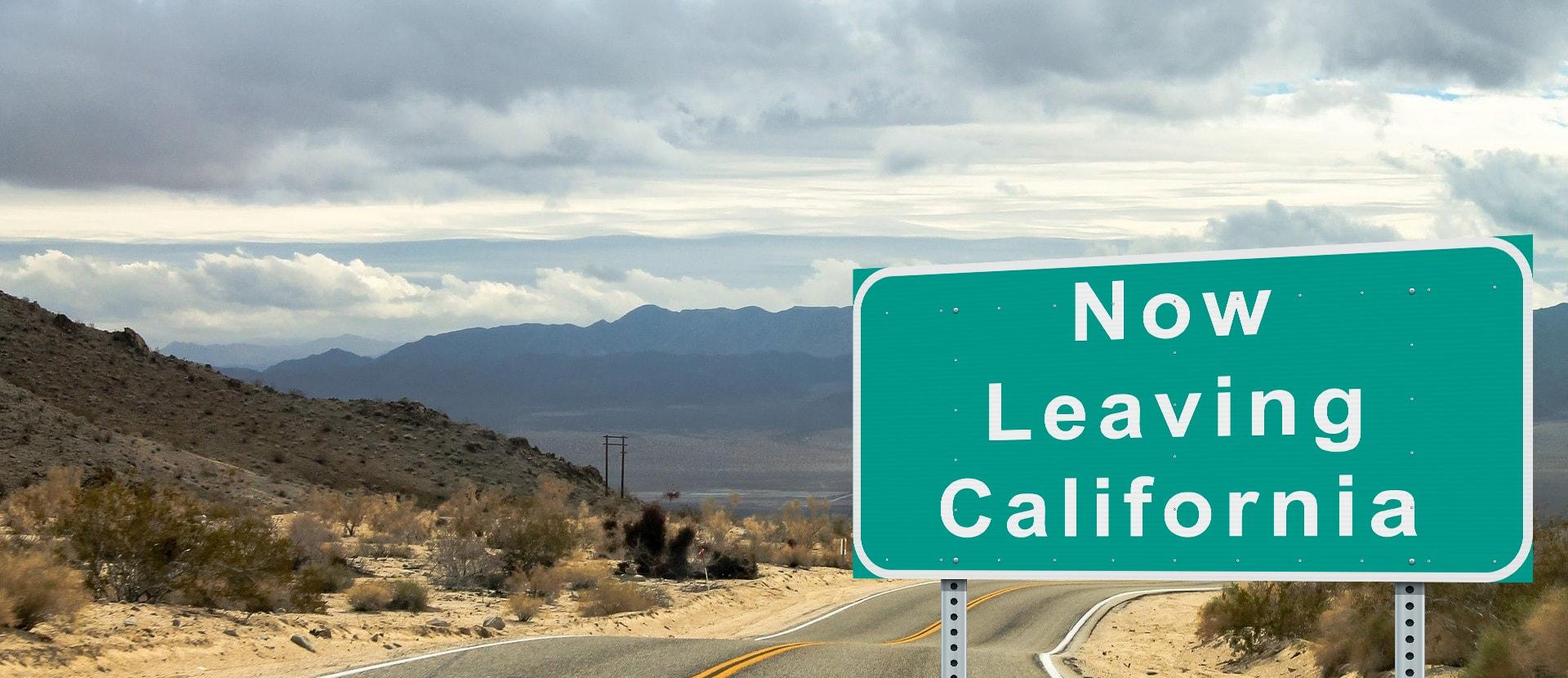 Abandonați nava! Pentru conservatori a sosit vremea să părăsească Statul California