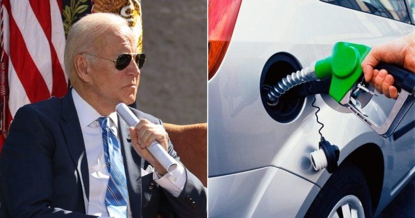 America lui Biden: Benzina ajunge la $7,59/galon în Gorda, California