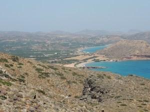 Plana de Palaikastro i el seu entorn. Fotografia: Josep Maria Palet (ICAC)